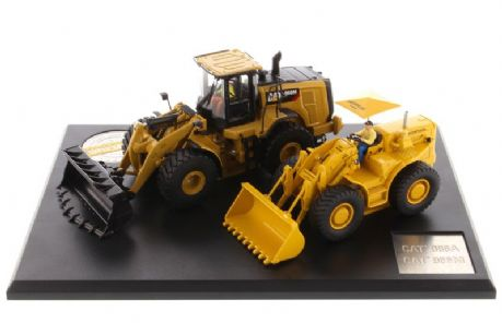 Diecast Masters CAT 966 Evolution Set